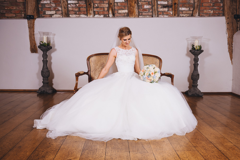 Bassmead Manor Barns, wedding day, dress, stunning venue
