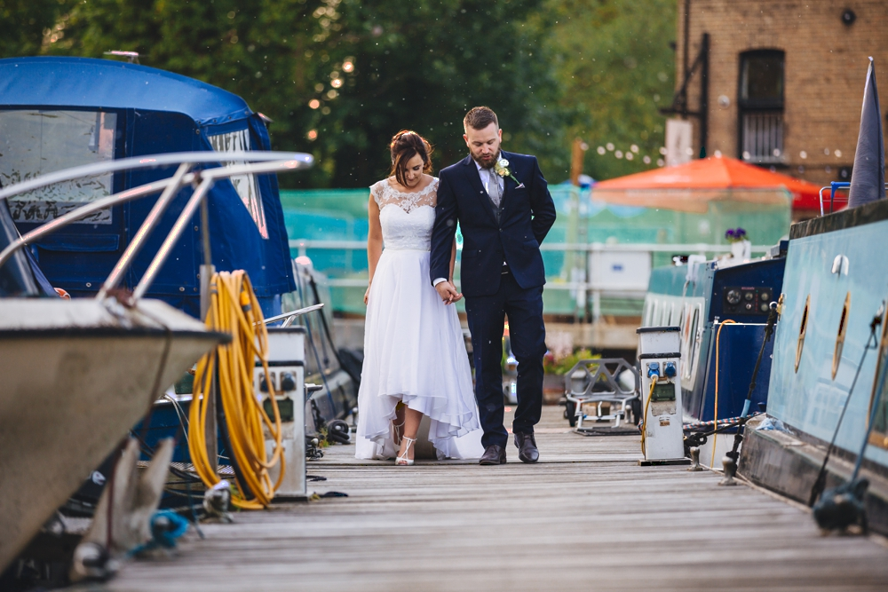Bride_And_Groom_On_the_Jetty_The_River_Mill