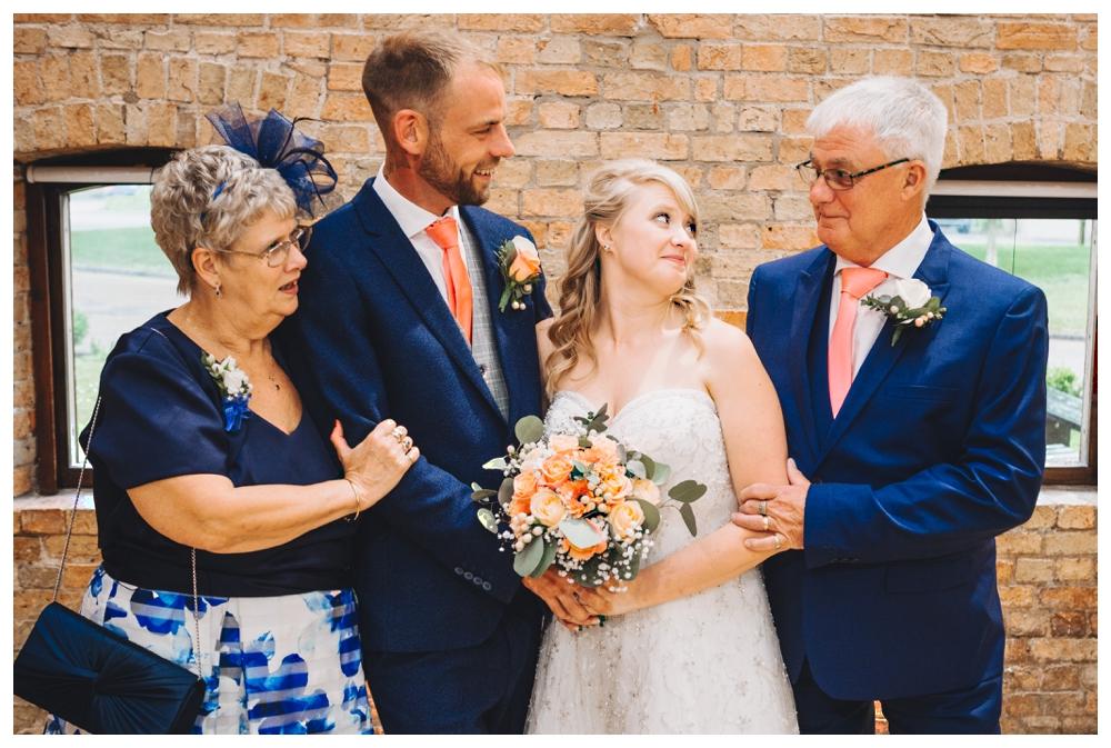 Formal Group Shot Brides Parents