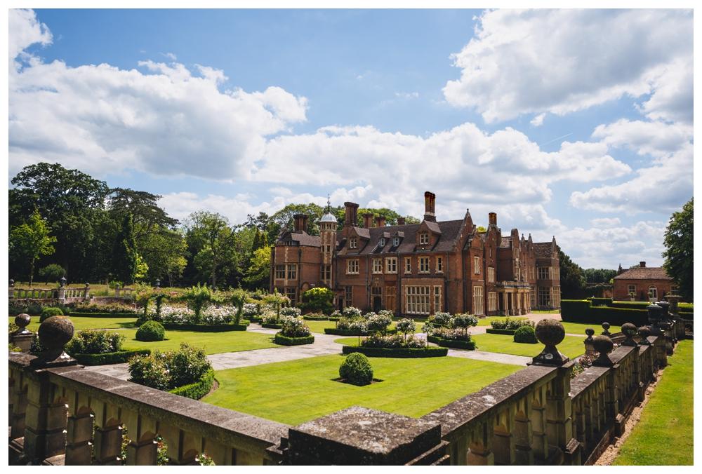 Grounds of Longstowe Hall Cambridgeshire