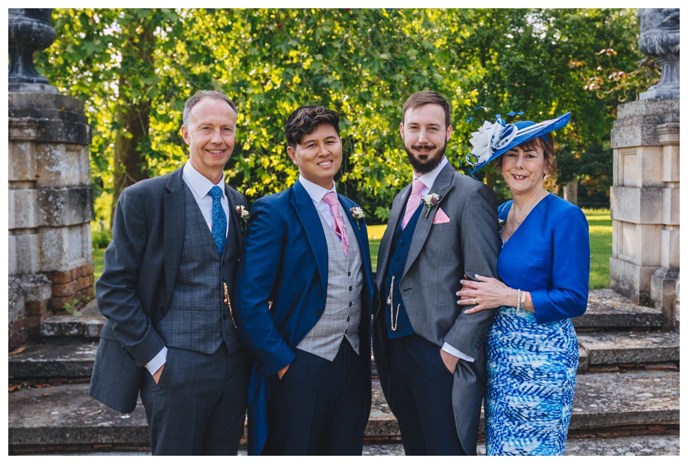 Grooms Formal Group Photo