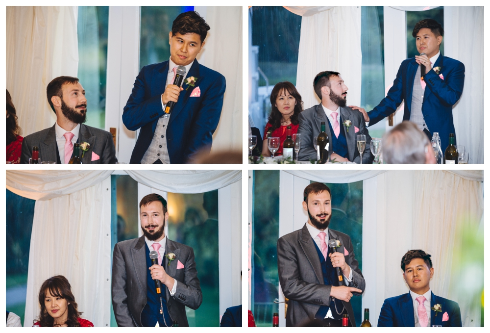 After Dinner Speeches Groom and Groom