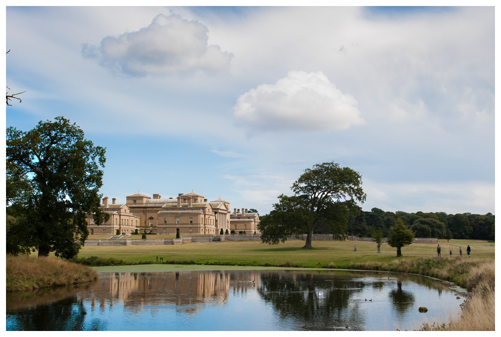 Holkham Hall View From The Lake