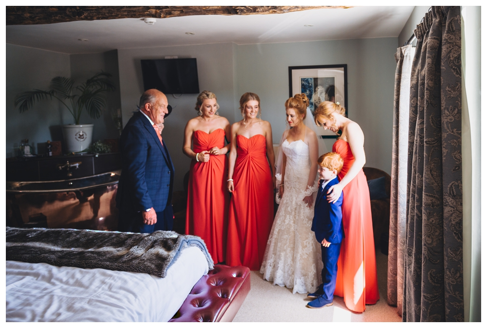 First Glance With Father of the Bride