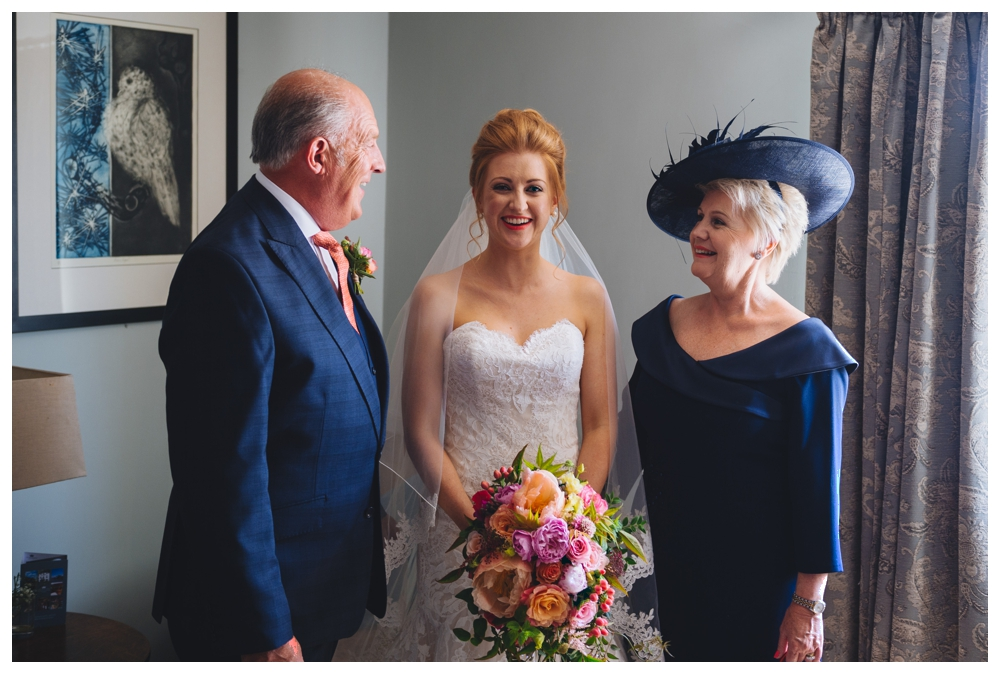 Bride, Mother and Father of the Bride The Crown Wells Next The Sea