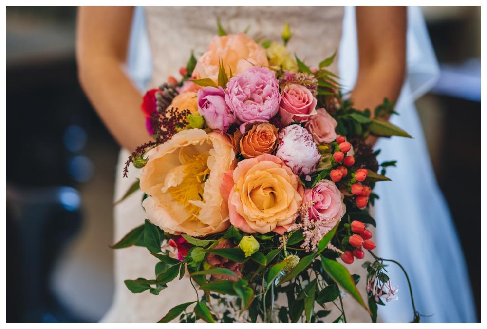 Wedding Bouquet Midsummer Flowers