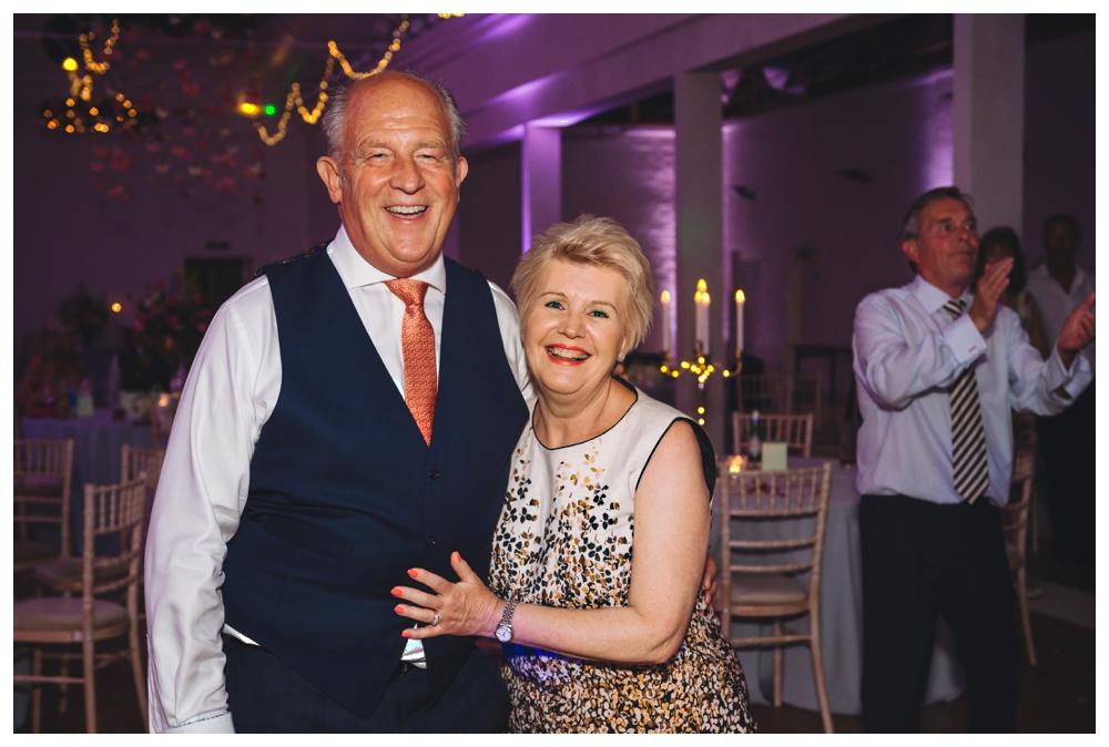 Couple on Dance Floor Holkham Hall