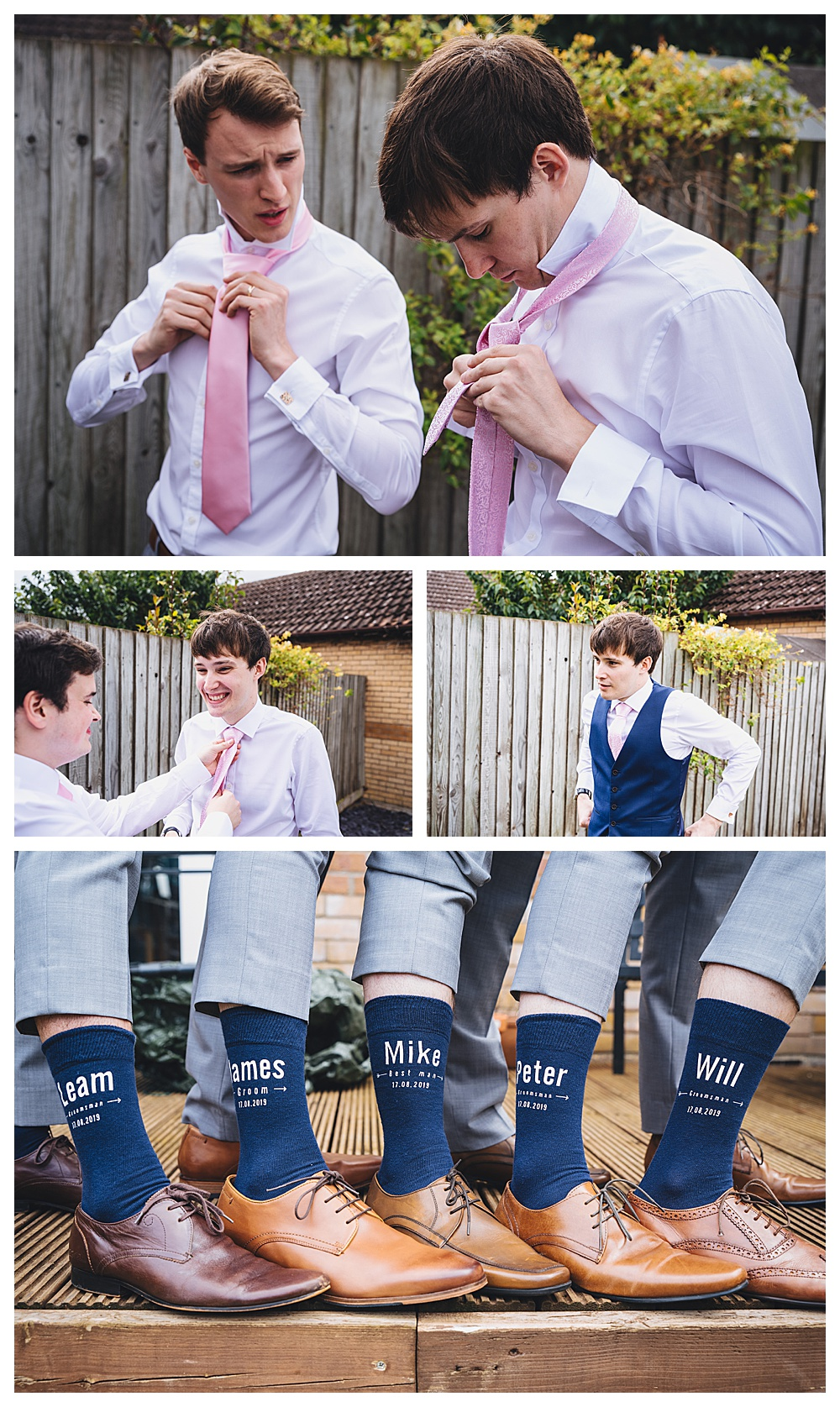 Groom Preparation shots