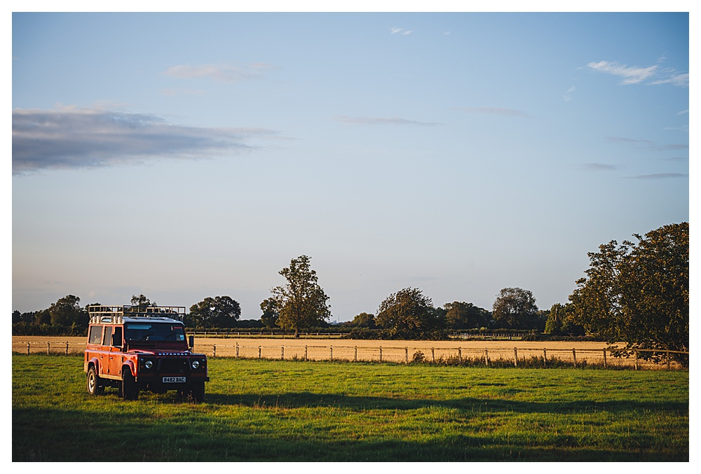 Jeep at Cottenham Racecourse