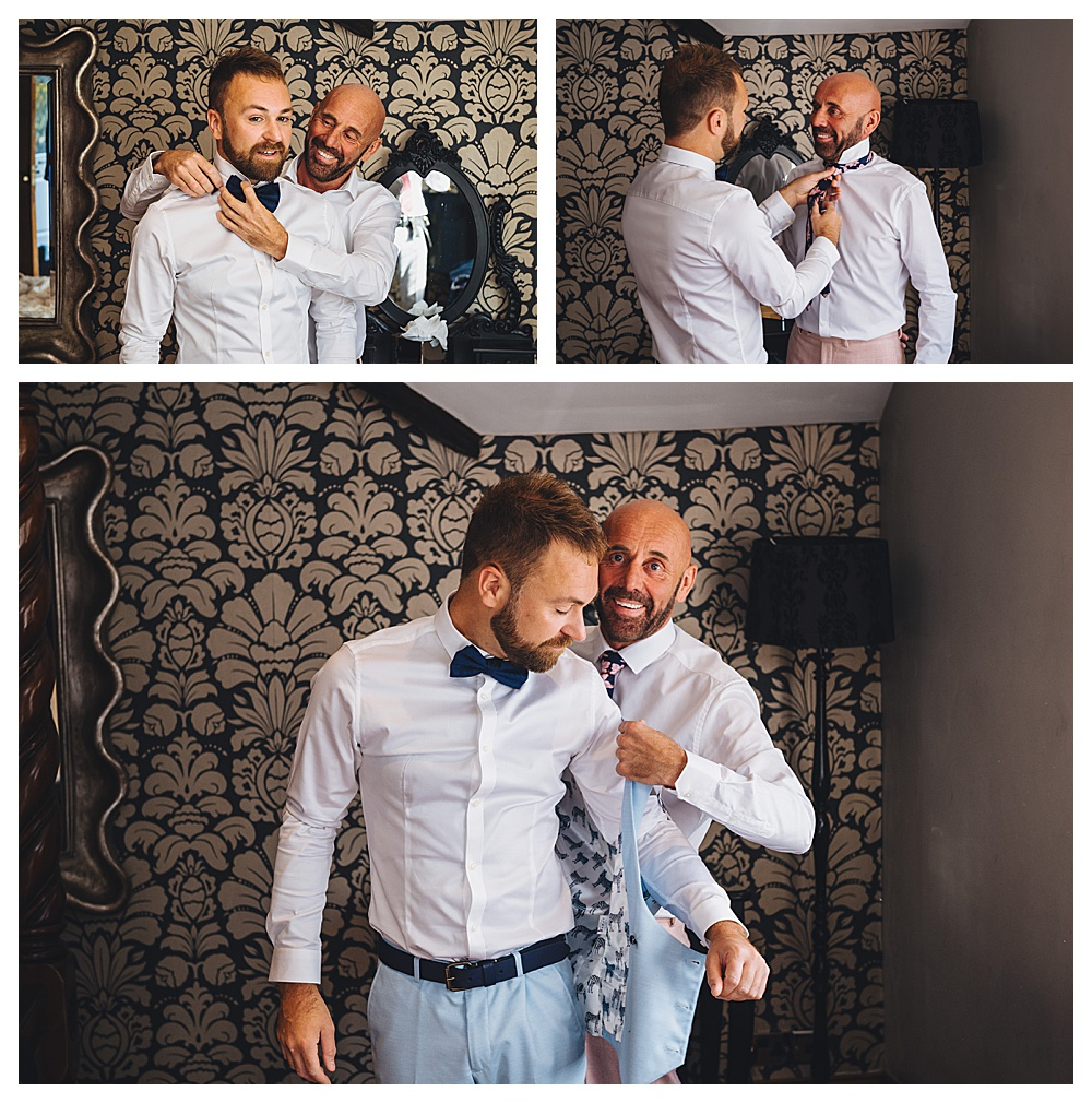 Grooms Pre Wedding Ceremony