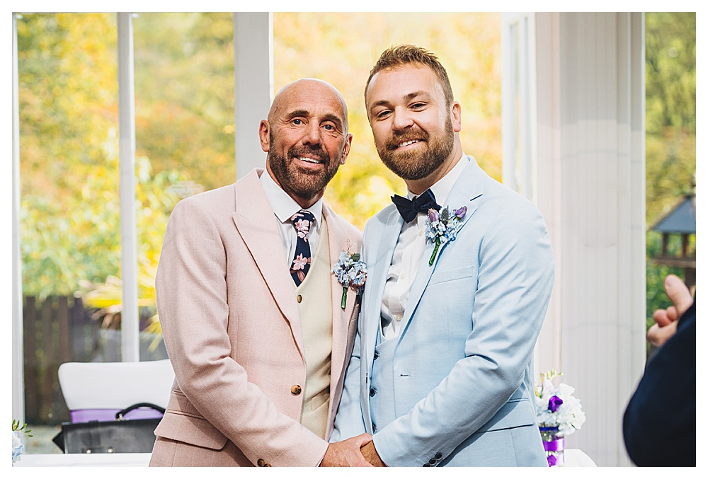 Two Grooms at Aisle